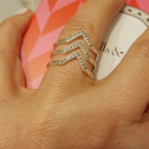 Stella and Dot adjustable ring